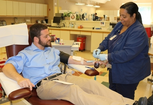 Donating blood in our nation's time of need