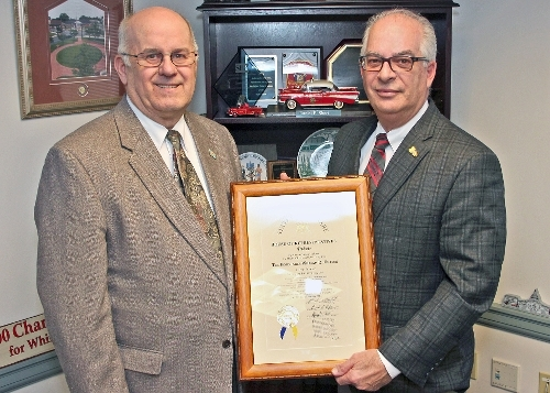 Outten Honored for Service
