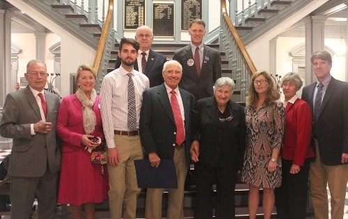 Legislators honor a local physician for his distinguished career