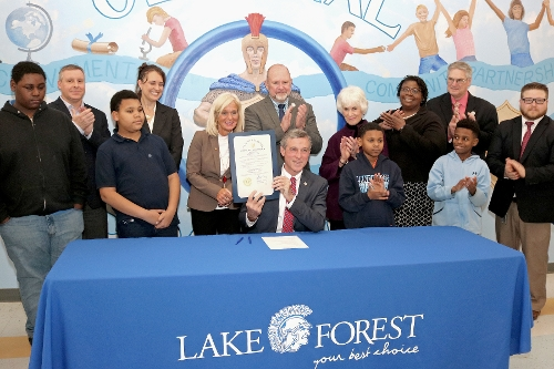 Lake Forest Central Elementary - Opportunity Funding Tour