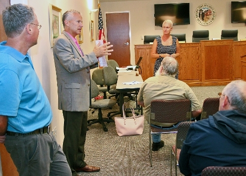Roundabout, Camden Bypass, and Other Concerns Discussed with DelDOT Sec. Cohan