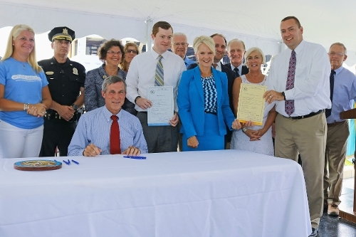Bills to help combat Delaware's growing issues related to substance abuse are signed