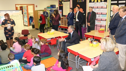 Visiting Wilson Elementary