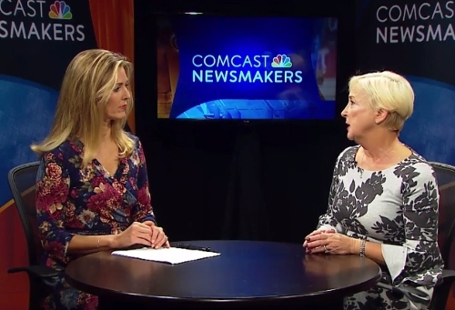 Rep. Briggs King conducts a Comcast Newsmakers interview on the fight against opioid addiction