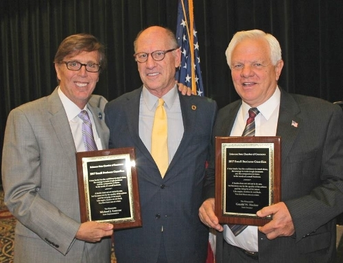 Rep. Ramone receives the 2017 Small Business Guardian Award